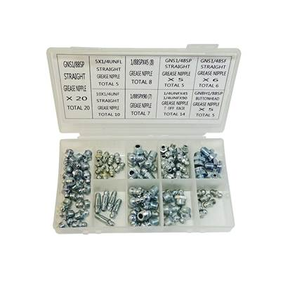 Lumatic Grease Nipple Selection Box Imperial