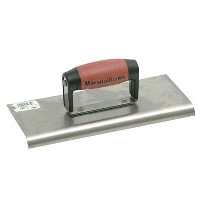 Marshalltown M192SS Stainless Steel Cement Edger DuraSoft® Handle 10 x 4in