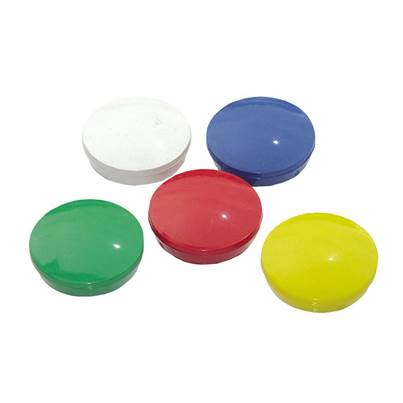 E-Magnets 640 Planning Magnets 30mm Pack of 5