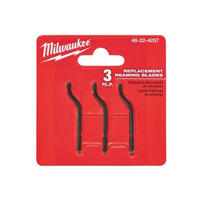 Milwaukee Hand Tools Reaming Pen Replacement Blades (Pack 3)