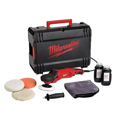 Milwaukee Power Tools AP 14-2 200ESET Polisher Set 200mm 1450W 240V