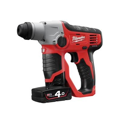 Milwaukee Power Tools M12 H Compact Cordless SDS 2 Mode Hammer 12V
