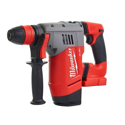 Milwaukee Power Tools M18 CHPX-0 FUEL™ High Performance SDS Plus Hammer 18V Bare Unit