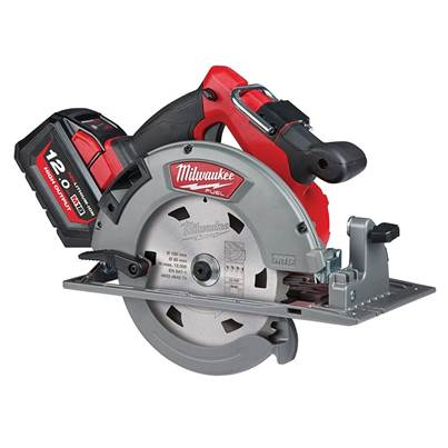 Milwaukee Power Tools M18 FCS66-121C FUEL™ Circular Saw, 190mm