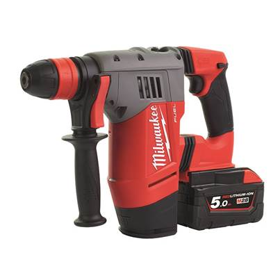 Milwaukee Power Tools M28 CHPX-502C FUEL™ SDS Plus Hammer Drill 28V 2 x 5.0Ah Li-ion