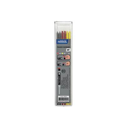 Markal TRADES-MARKER® DRY Assorted Refills (Pack 6)