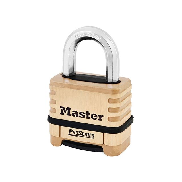 Master Lock ProSeries® Brass 4 Digit Padlock 57mm