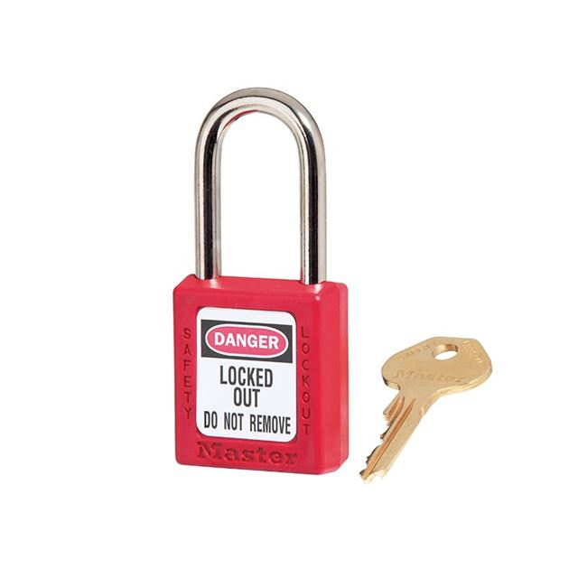 Master Lock Lockout Padlock – 38mm Body & 6mm Hardened Steel Shackle