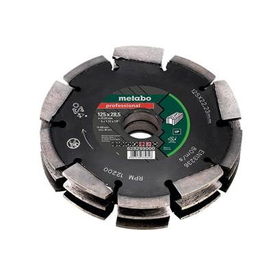 Metabo Multi Row Professional UP Universal Wall Chaser Blade