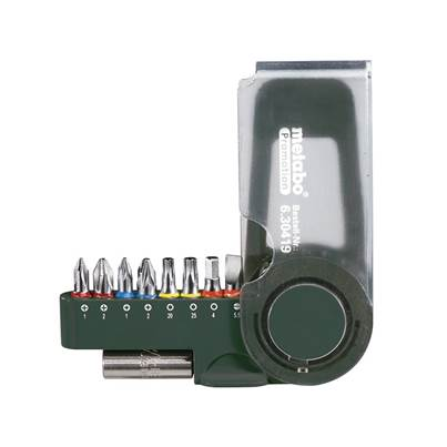 Metabo Bit Set, 9 Piece