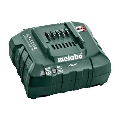 Metabo ASC 55 Air Cooled Slide Charger 12-36V Li-ion