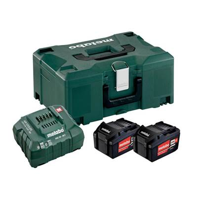 Metabo Basic Li-ion Battery Set 18V 2 x 4.0Ah
