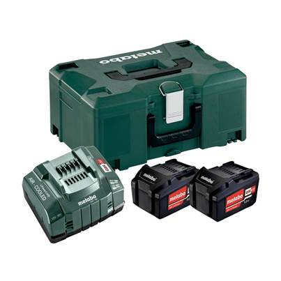 Metabo Basic Li-ion Battery Set 18V 2 x 5.2Ah