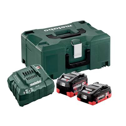 Metabo Basic-Set LiHD 18V 1 x 4.0Ah & 1 x 5.2Ah