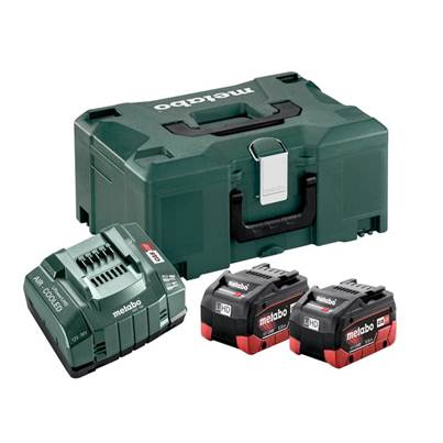 Metabo Basic-Set LiHD 18V 2 x 5.2Ah