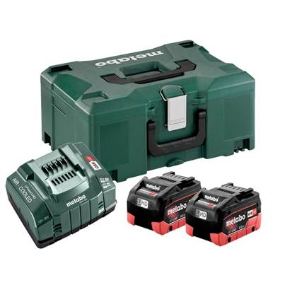 Metabo Basic LiHD Battery Set 18V 2 x 8.0Ah