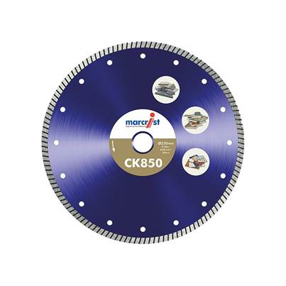 Marcrist CK850 Tile Cutting Blade Natural Diamond - Fast Cut
