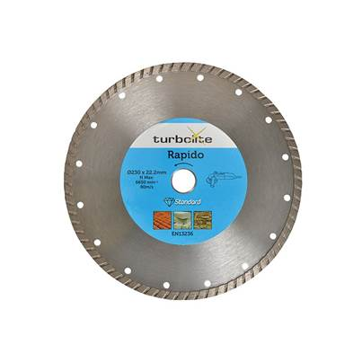Marcrist Rapido Turbo Blade 115 x 22.2mm