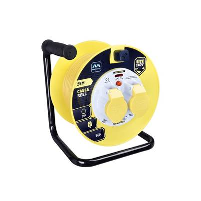 Masterplug Cable Reel 110V 16A Thermal Cut-Out