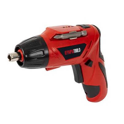 Olympia Power Tools Cordless Screwdriver 3.6V 1 x 1.3Ah Li-ion