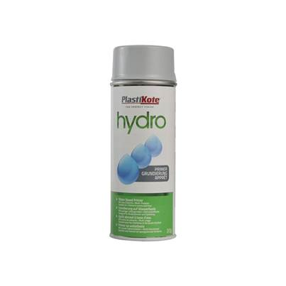 PlastiKote Hydro Primer Spray Grey 350ml