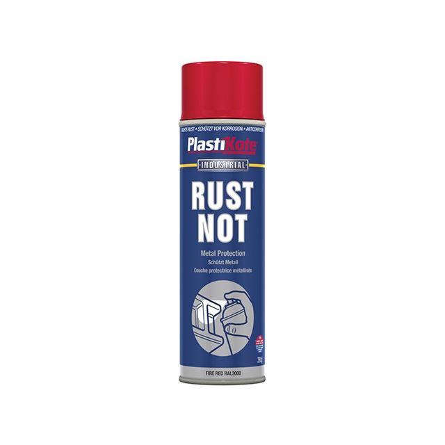PlastiKote Rust Not Spray Matt Red 500ml