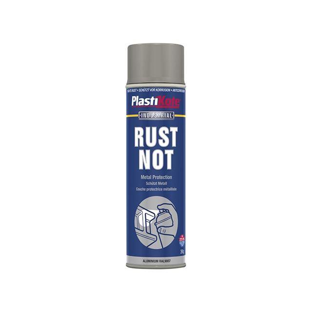 PlastiKote Rust Not Spray Matt Aluminium 500ml