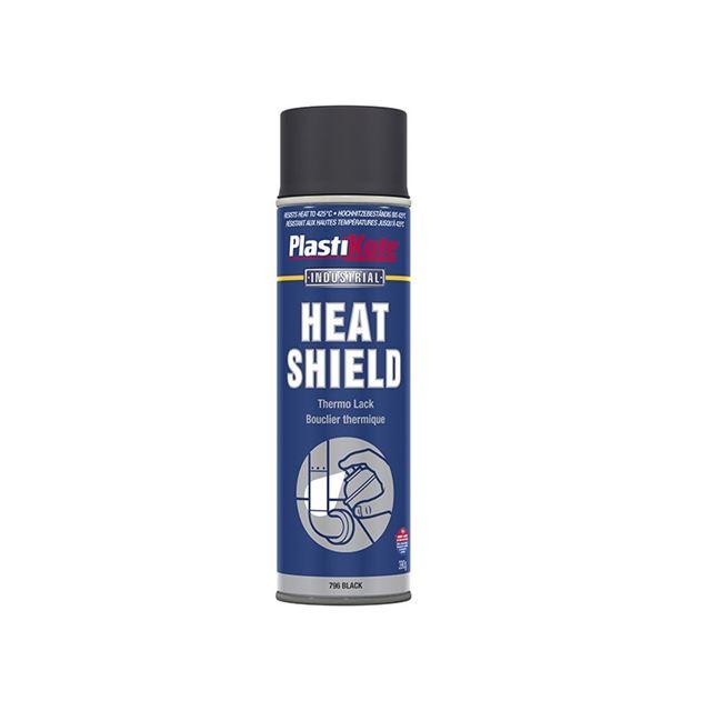 PlastiKote Industrial Heatshield Spray Black 500ml