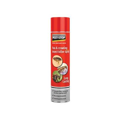 Pest-Stop (Pelsis Group) Flea & Crawling Insect Killer Spray 300ml