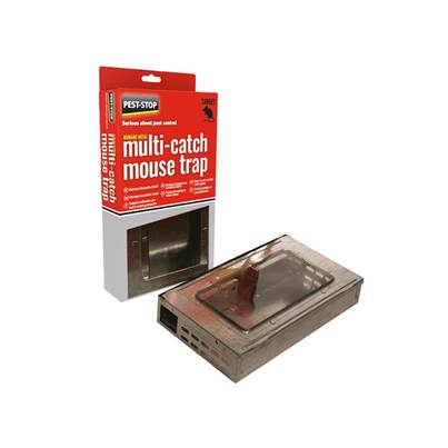 Pest-Stop (Pelsis Group) Multi-Catch Humane Mouse Trap Metal
