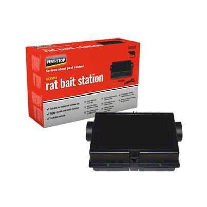 Pest-Stop (Pelsis Group) Plastic Rat Bait Station