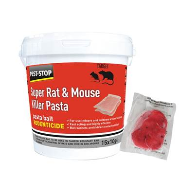 Pest-Stop (Pelsis Group) Super Rat & Mouse Killer Pasta Bait