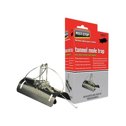Tunnel Type Mole Trap