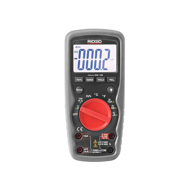 RIDGID DM-100 Micro Digital Multimeter 37423