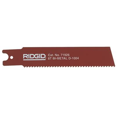 RIDGID Reciprocating Saw Blade For Heavy Wall Steel Pipe