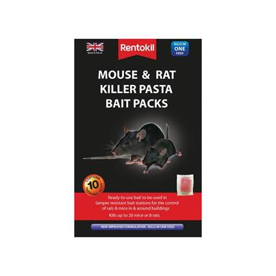 Rentokil Mouse & Rat Killer Pasta Bait