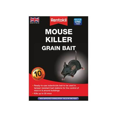 Rentokil Mouse Killer Grain Bait