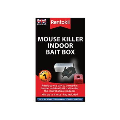 Rentokil Mouse Killer Indoor Bait Box