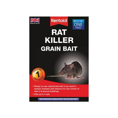 Rentokil Rat Killer Grain Bait