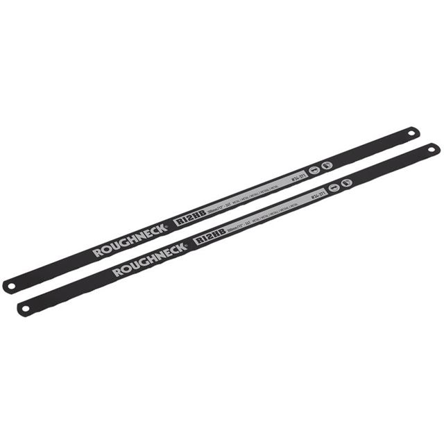 Roughneck Hacksaw Blades 300mm (12in) x 24 TPI Pack 2