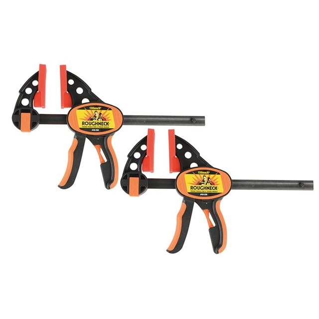 Roughneck Ratcheting Bar Clamp & Separator 152mm (6in) Twin Pack