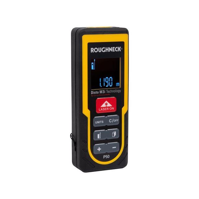 Roughneck P50 Laser Distance Measure 50m