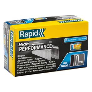 view Rapid Type 28 Staples products