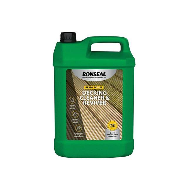 Ronseal Decking Cleaner & Reviver 5 litre