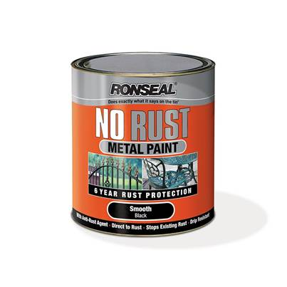 Ronseal No Rust Metal Paint Smooth