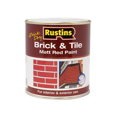 Rustins Quick Dry Brick & Tile Matt Paint