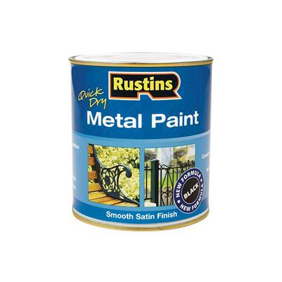 Rustins Quick Dry Metal Paint Smooth Satin