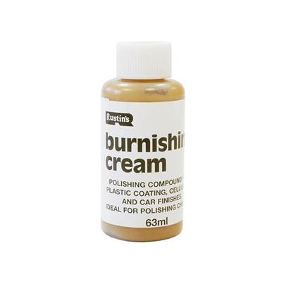 Rustins Plastic Coating Burnishing Cream 63ml