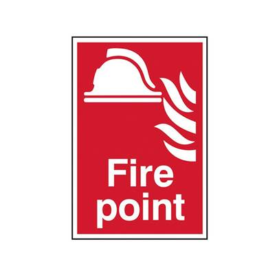 Scan Fire Point - PVC 200 x 300mm