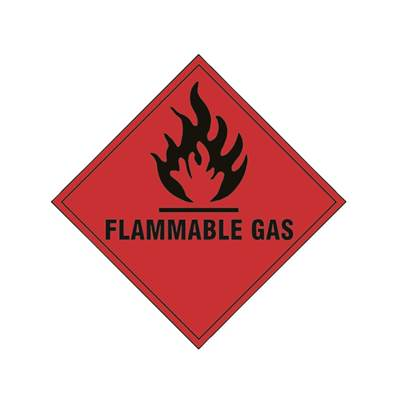 Scan Flammable Gas SAV - 100 x 100mm